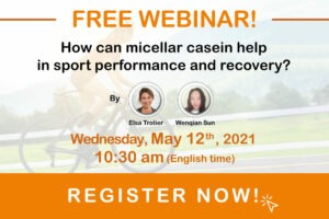 free webinar how can micellar casein help in sport performance recovery