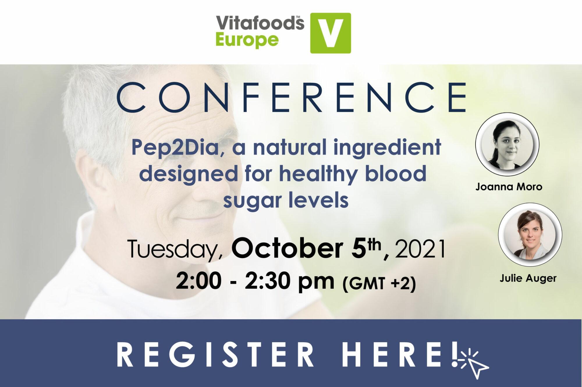 événement Vitafoods 2021 ingrédient laitier protéine actif santé